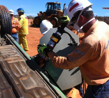 On-site Road and Industrial Accident Response Training Course