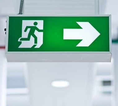 Exit/ Evacuation Sign