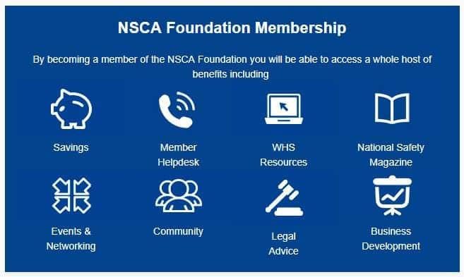 nsca foundation benefits