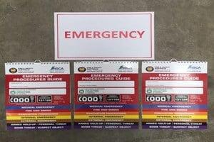 emergency flip charts
