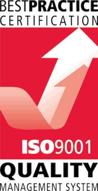 ISO 9001 logo - Quality Management System