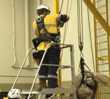 Perform Pole Top Rescue